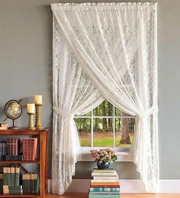 modelos de cortinas para cuartos blanco