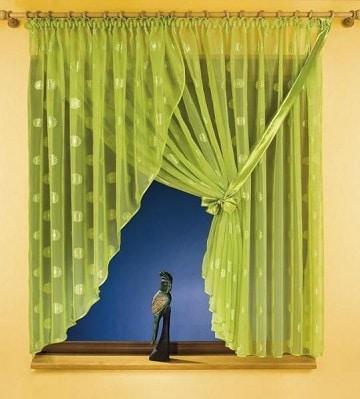 modelos de cortinas para cuartos verde