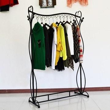 muebles para colgar ropa de hierro