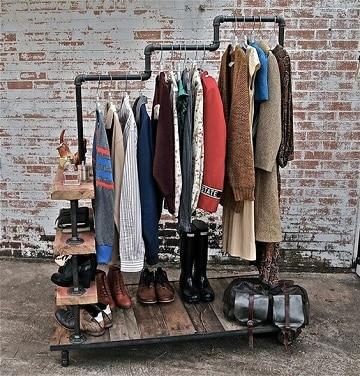 muebles para colgar ropa modernos