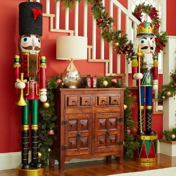 salas decoradas de navidad para niños