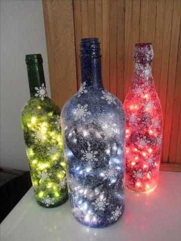 adornos con luces de navidad 2017