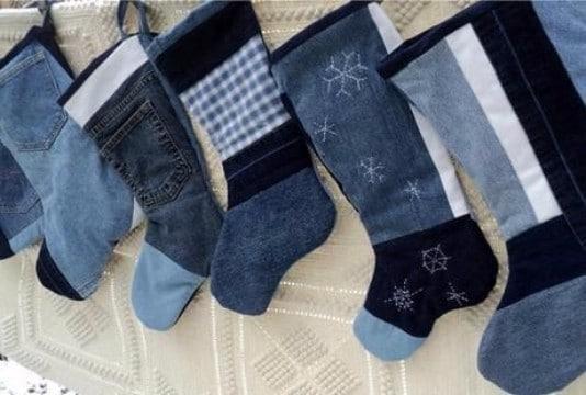 botas navideñas recicladas faciles