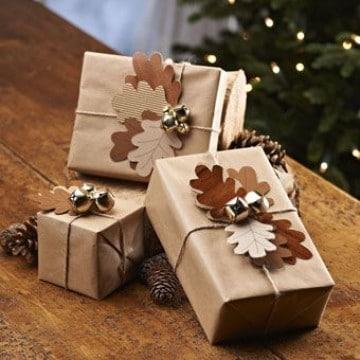 cajas de regalo para navidad faciles
