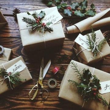 cajas de regalo para navidad paso a paso