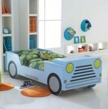camas para niños de dos años con forma
