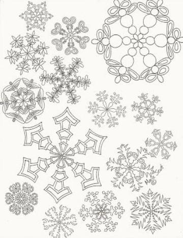 Diversas ideas para crear copos de nieve navideños | Como decorar mi ...