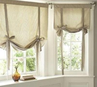 cortinas modernas para recamara de lazo