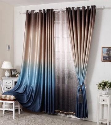 cortinas modernas para recamara degrade