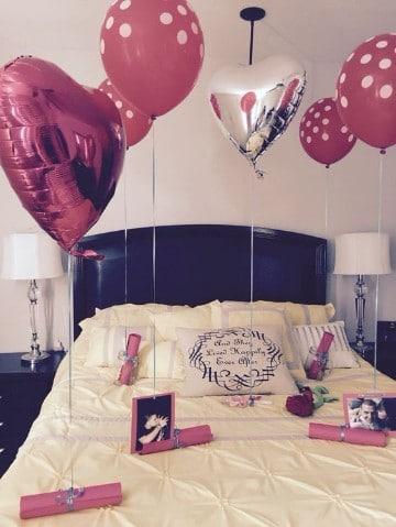 cuartos decorados de amor sencillo