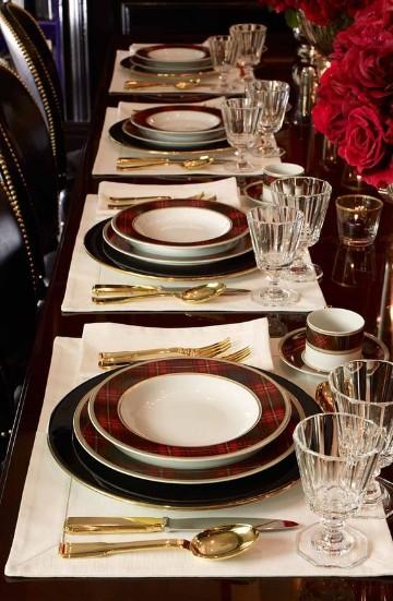 elegantes mesas decoradas para año nuevo