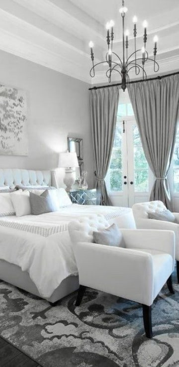 fotos de dormitorios de matrimonio iluminado