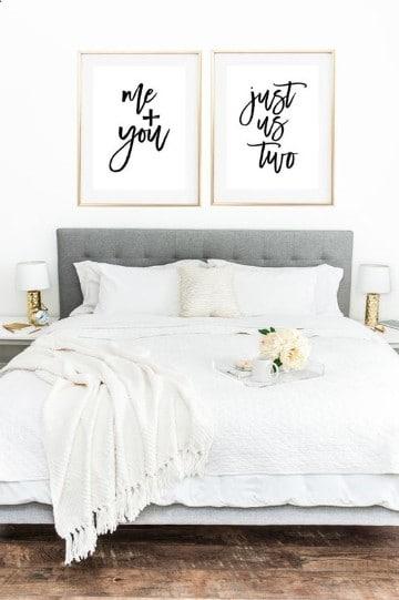 fotos de dormitorios de matrimonio romantico