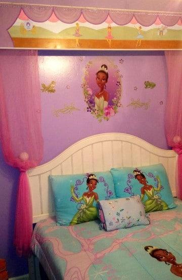 habitaciones de princesas disney de peliculas