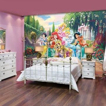 habitaciones de princesas disney decoradas