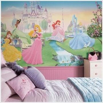 habitaciones de princesas disney para niñas