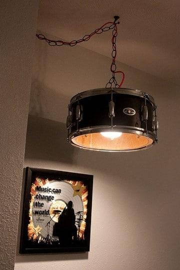 lamparas de techo para cuartos musicales
