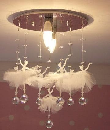 lamparas para cuartos de niños de bailarinas