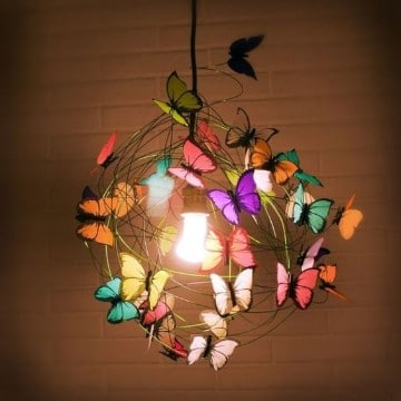 lamparas para habitacion de niña originales