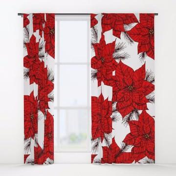 Dise os originales de cortinas navide as para cocina for Disenos de cortinas para cocina
