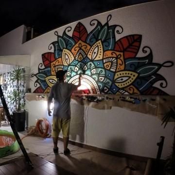 paredes pintadas con mandalas paso a paso