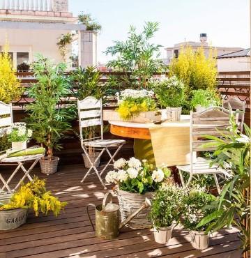 hermosos dise os para terrazas decoradas con plantas