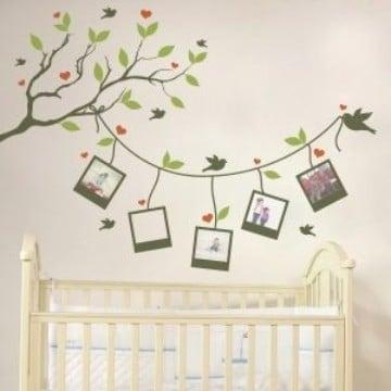 vinilos decorativos para bebes con fotos