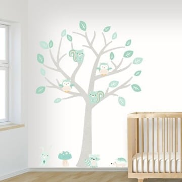 vinilos decorativos para bebes de arboles