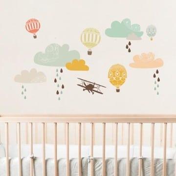 vinilos decorativos para cuartos de niños