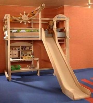 camas con tobogan para niños originales