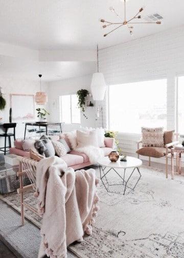 colores de alfombras para salas vintage