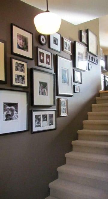 cuadros para decorar escaleras fotos