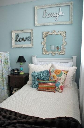 cuadros vintage para dormitorios con estilo