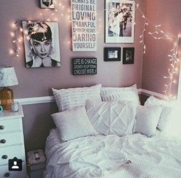 cuadros vintage para dormitorios de adolescentes
