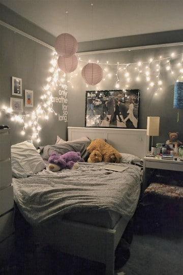 cuadros vintage para dormitorios decorados