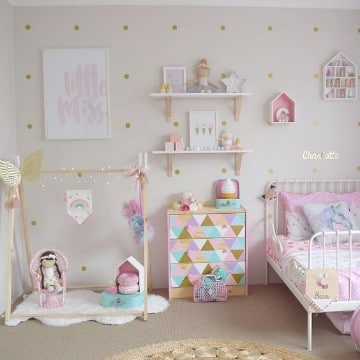 cuarto de juegos para niñas bebes