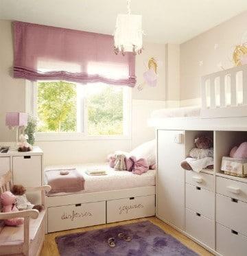 cuarto de juegos para niñas pequeñas