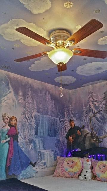 cuartos decorados de frozen original