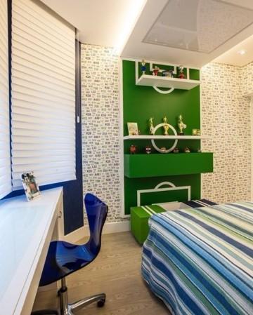 cuartos para niños de futbol decorados