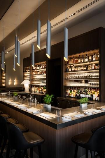 diseños de barras de bar minimalista