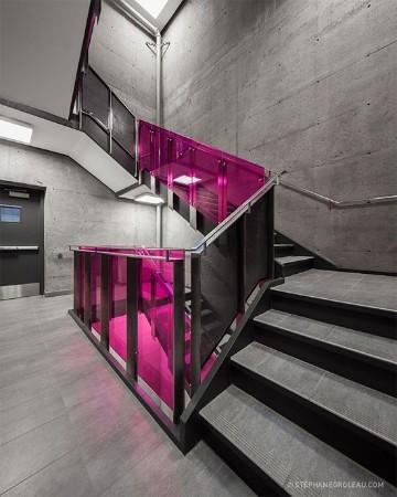 escaleras modernas para casa de dos pisos
