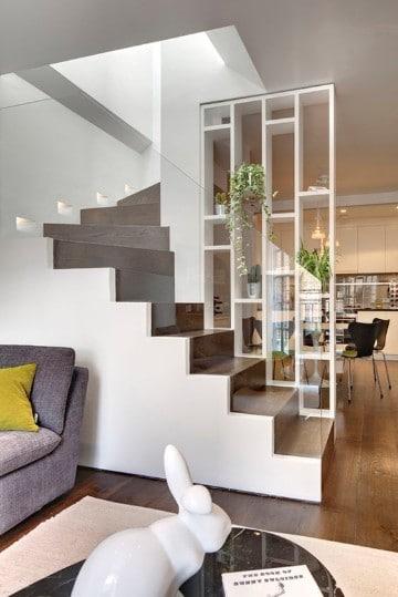 escaleras modernas para casa interiores