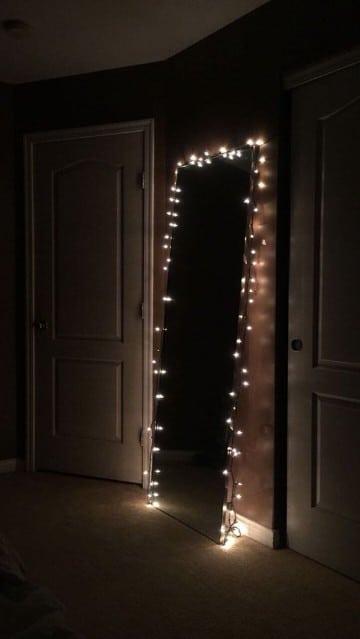 espejos de cuerpo completo con luces