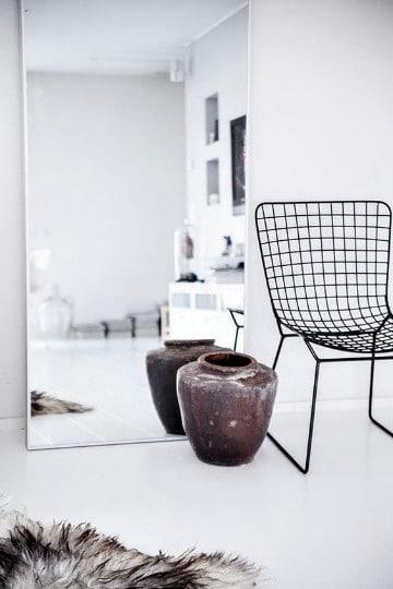 Como decorar muy original con espejos de cuerpo completo for Espejos de cuerpo completo modernos