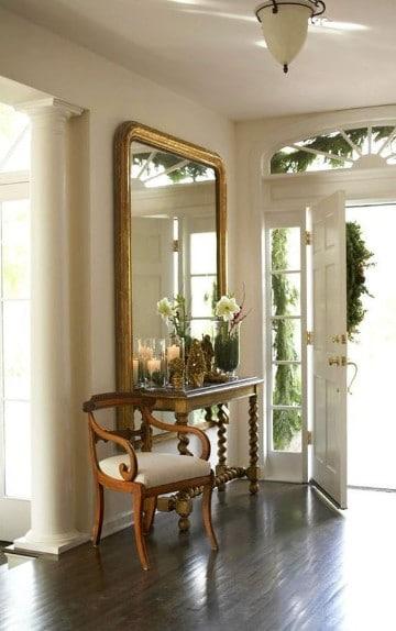 espejos en la entrada de la casa grandes