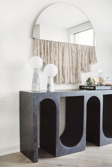 espejos modernos para sala con estilo