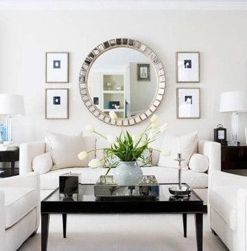 espejos modernos para sala grande