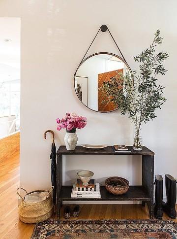 espejos modernos para sala rustica