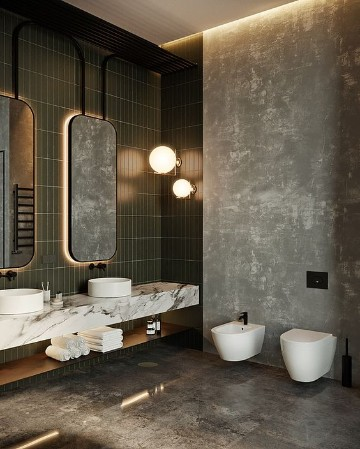Hermosos espejos para ba o con luz para decorar como - Luz para banos ...