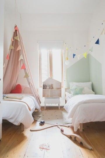 habitaciones infantiles compartidas calidas